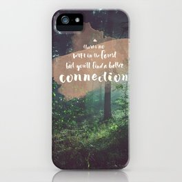 Connection iPhone Case