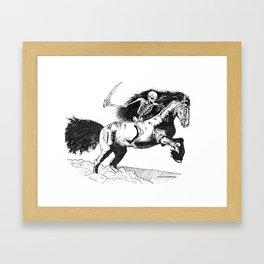 The Fourth Horseman Framed Art Print