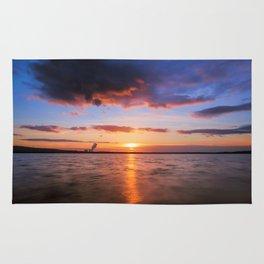 Beautiful Sundown II - #Society6 Rug