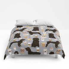 Boykin Spaniel coffee lover foodie dog person gifts for the dog person in your life Comforters