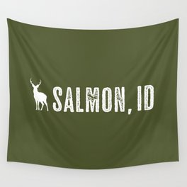 Deer: Salmon, Idaho Wall Tapestry