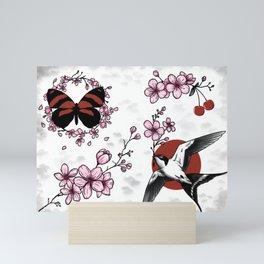 Cherry Blossom Flash Mini Art Print