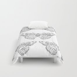 Butterfly dots Comforters