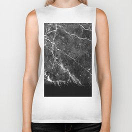 Black Gray Marble #1 #decor #art #society6 Biker Tank