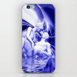 Blaue Lagune iPhone Skin