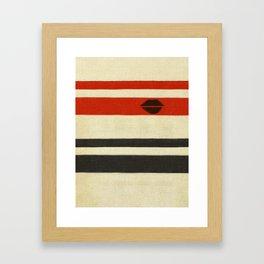 The Lady Vanishes Framed Art Print