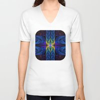 spiritual V-neck T-shirts featuring Spiritual One by Lyle Hatch
