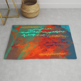 Abstract In Southwest Colors-Barbara Chichester Rug