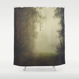 Unwritten poetry Shower Curtain