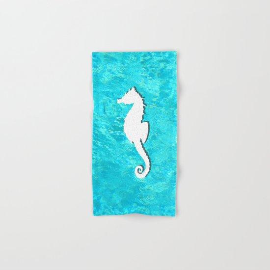 Seahorse Hand & Bath Towel