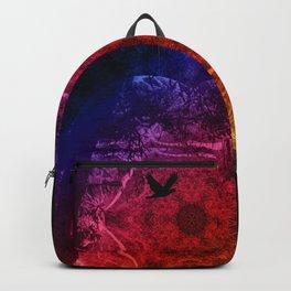 Flying through an alien landscape Backpack