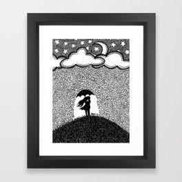 Shower of Love Framed Art Print