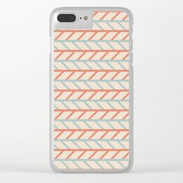 Tilted Clear iPhone Case