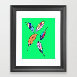 Feathers 2 Framed Art Print