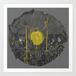 Sound on the underground Art Print