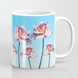 Roses and little frogs Coffee Mug