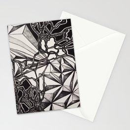 Neurogeometry Stationery Cards
