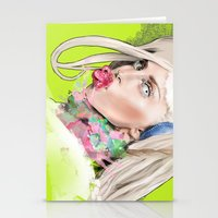 artrave Stationery Cards featuring ArtRAVE by Dafni