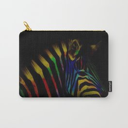 TheRainbow Zebra Carry-All Pouch