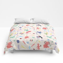 Mythological pattern Comforters
