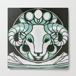 Astrology Northwest: Aries Metal Print