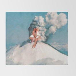 Eruptions 2 Throw Blanket