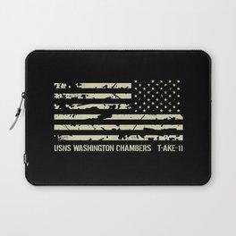 USNS Washington Chambers Laptop Sleeve