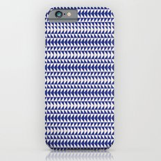 Blue Folk Art iPhone 6s Slim Case