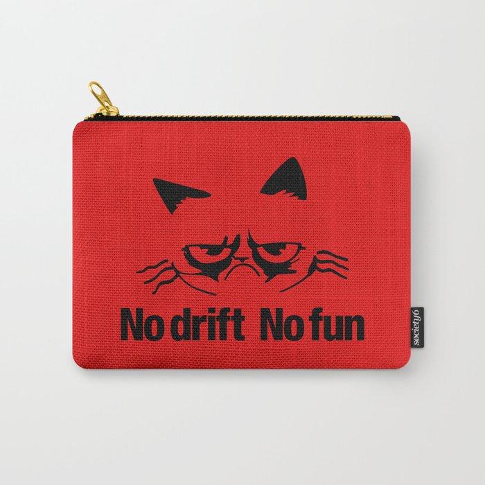 No drift No fun v5 HQvector Carry-All Pouch