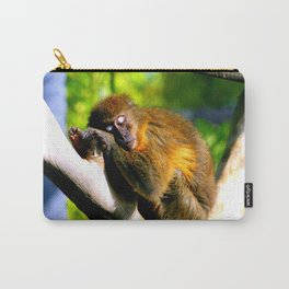 Monkey Sleeping Carry-All Pouch
