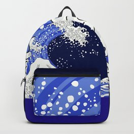 Great Blue Wave Backpack