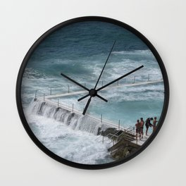 Bondi Waves Wall Clock