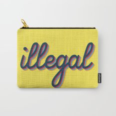 Illegal - yellow version Carry-All Pouch