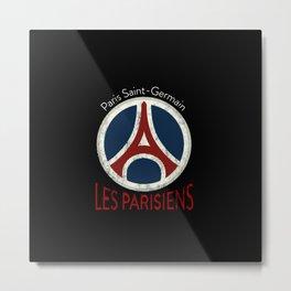 Les Parisiens Metal Print