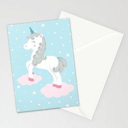 Magic unicorn Stationery Cards