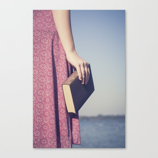 The Book Canvas Print