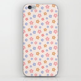 Colourful Floral Pattern iPhone Skin