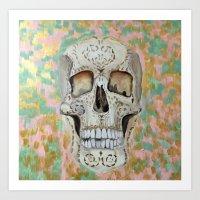 Isabel's Skull Art Print