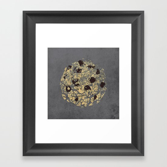 crumbling cookie Framed Art Print