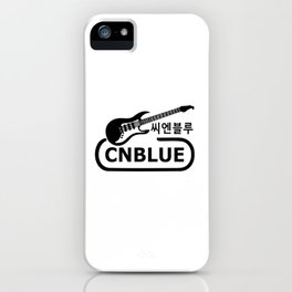 Awesome KPop Rock Band CNBLU iPhone Case