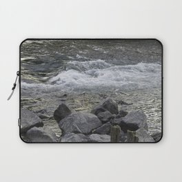 Rocks + river Laptop Sleeve