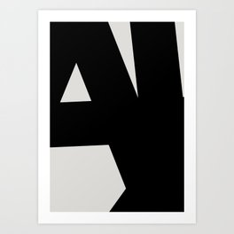 Abstract Form 01 Art Print
