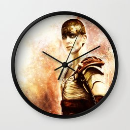 Mad Max : Fury Road - Furiosa Wall Clock