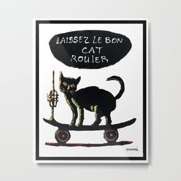 Nola Cat  Metal Print