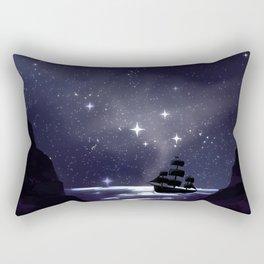 Sailing Stars Rectangular Pillow