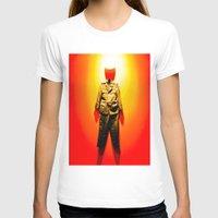 military T-shirts featuring MILITARY DRESS by Alejandra Triana Muñoz (Alejandra Sweet