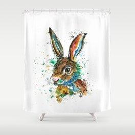 Bunny Rabbit - Real Bunny Shower Curtain