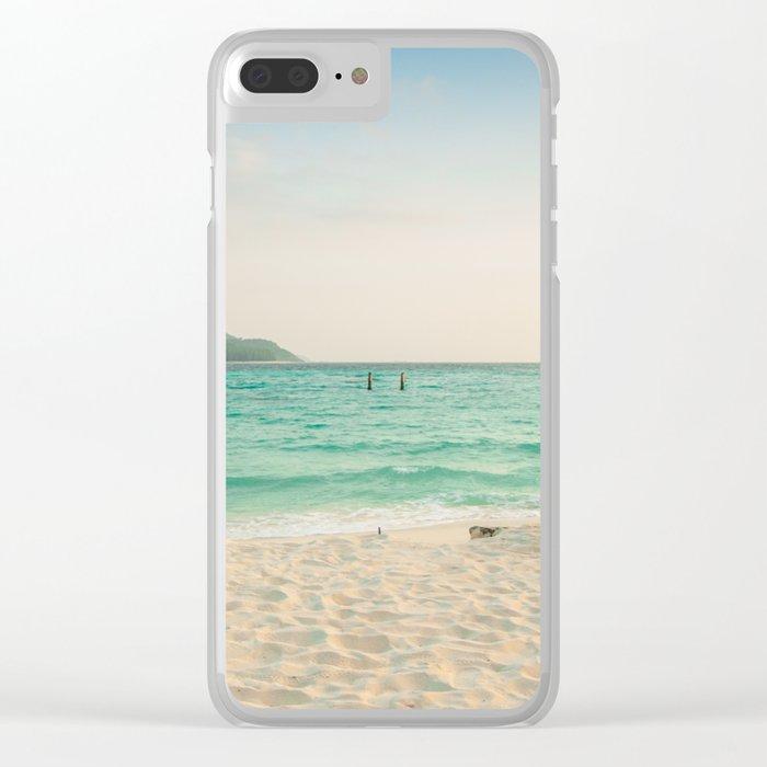 Thailand beach Clear iPhone Case