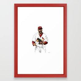 Chris Carpenter #29 Framed Art Print