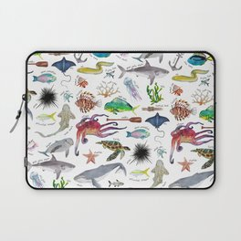 Under the Sea Alphabet Laptop Sleeve